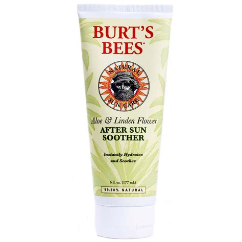 burt s evitamins com burt s bees after sun soother 6 fl oz