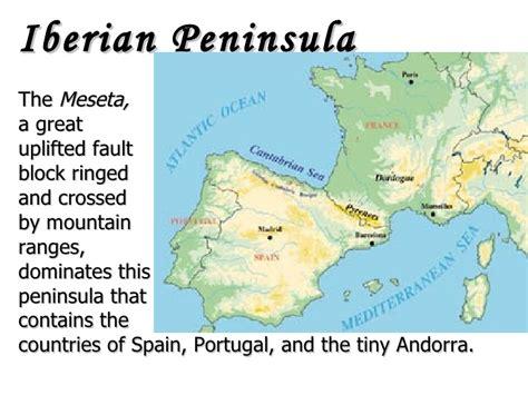 iberian peninsula on map iberian peninsula