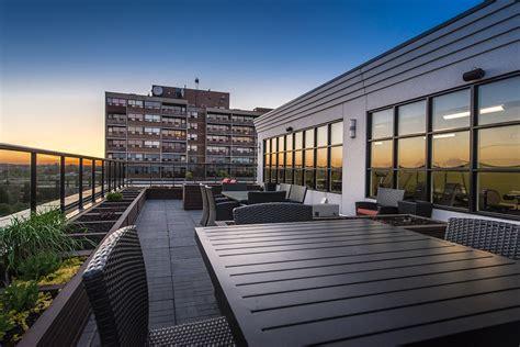 rooftop patio amenities arrow lofts