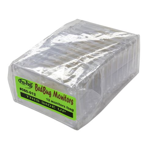 bed bug monitor pro pest bed bug monitor trap bag of 12 monitors ebay