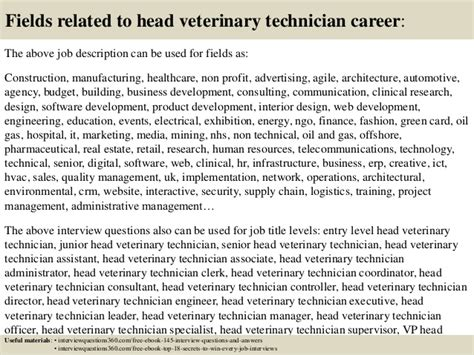 top 10 veterinary technician questions and