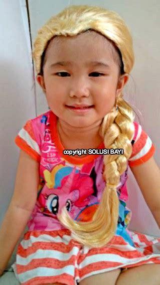 Rambut Palsu Frozen jual rambut palsu kepang wig elsa solusibayi