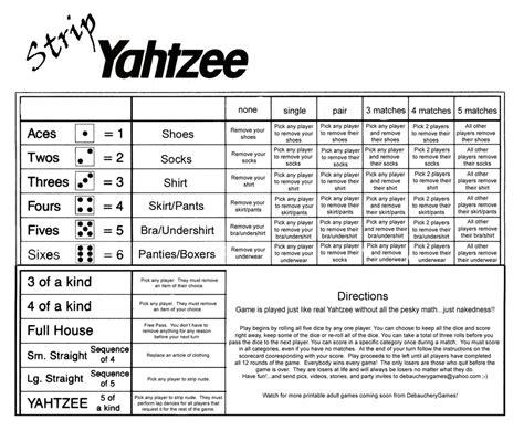 printable yahtzee rules strip yahtzee scorecard by debaucherygames on deviantart