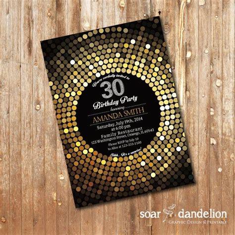 30th birthday invitations ideas 30th birthday invitation 40th 50th 60th 70th birthday ab035 by