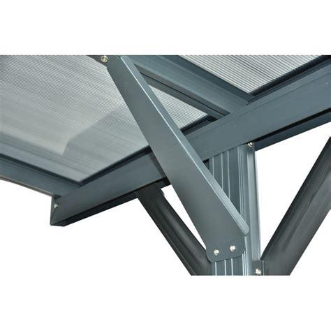 box auto in alluminio awesome doppia tettoia per auto in alluminio antracite e