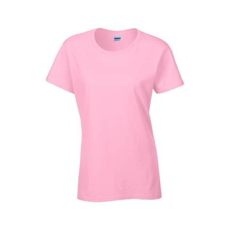 light pink shirt womens gl5000 heavy cotton ladies t shirt light pink gildan