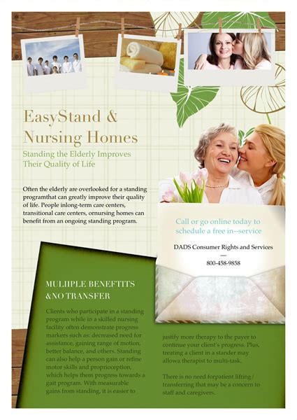 Free Caregiver Flyer Templates