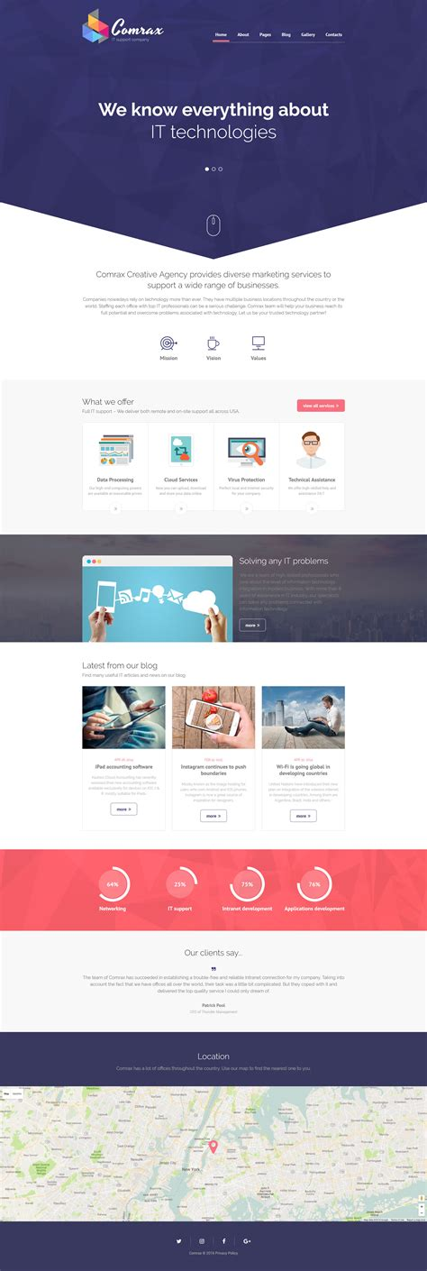 it responsive joomla template 61340