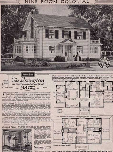 center colonial floor plan tour a real sears roebuck and co mail order craftsman