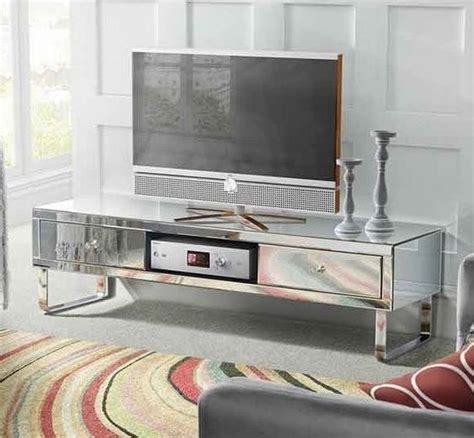 cheap television stands and cabinets mirrored tv stand glass cabinet contemporary decor vintage
