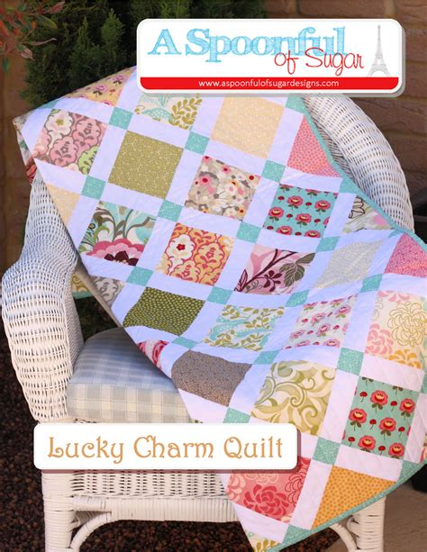 Quilt Charms by Lucky Charm Quilt A Spoonful Of Sugar