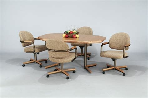 dining room chairs on wheels intended for your property clubnoma