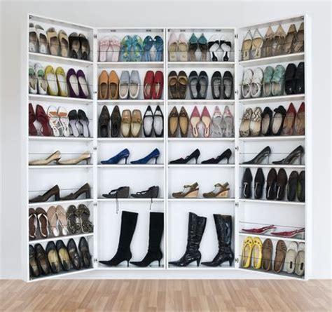 Schuhe Platzsparend Aufbewahren by Schuh Speicher Shoe Closet Diy