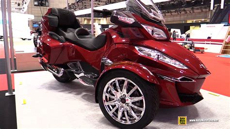 can am motors 2016 can am spyder rt limited walkaround 2015 tokyo