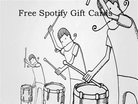 Where To Get Spotify Gift Cards - spotify gift cards free spotify premium gift codes