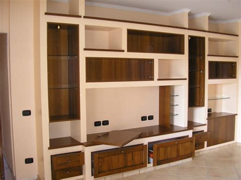 libreria cartongesso e legno preventivo realizzare mobile cartongesso habitissimo