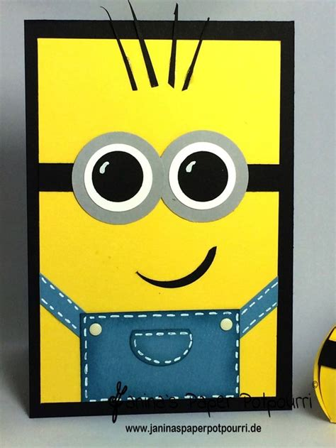 Minion Gift Card - 25 best ideas about minion card on pinterest kids cards kids birthday cards and