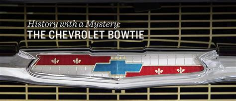 chevrolet name origin origin of the chevrolet bowtie badge revealed after 100