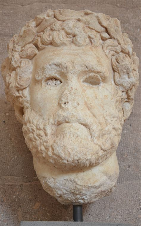 ancient corinth wikipedia file portrait of antoninus pius from the forum