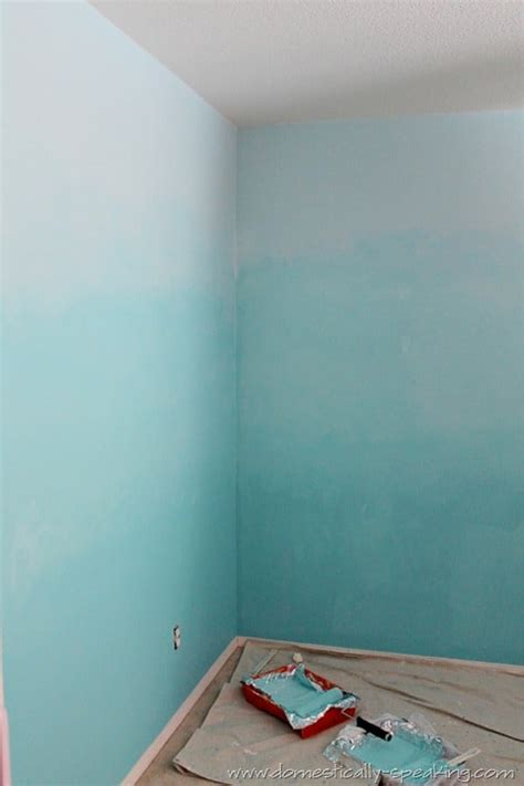 ombre wall 145th power of paint party ombre bedroom wall tutorial