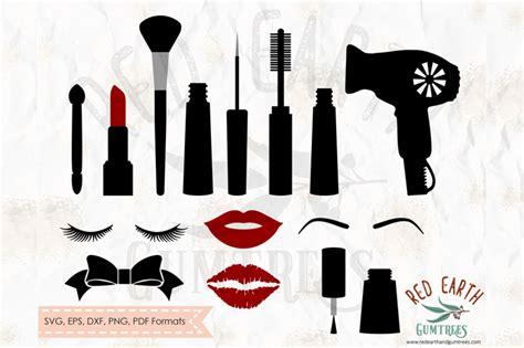 makeup elements bundle lips lashes svgpngepsdxf