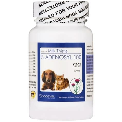 sam e for dogs s adenosyl 100 same for small dogs and cats 100 mg 30 tabs