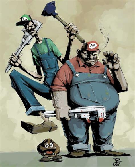 Mario Bros 44 mario brothers artworks 54 pics