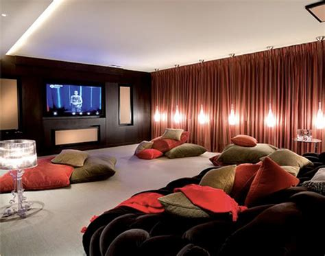 home theatre decor 15 cool home theater design ideas digsdigs