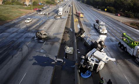 car crash on the 60 freeway 60 freeway fully reopens after fatal multi vehicle crash