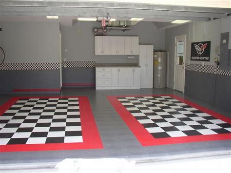 garage floor designs race deck garage floor tiles corvette forum pinteres