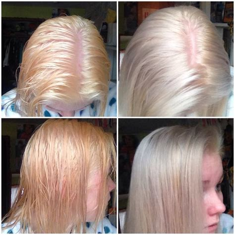 best purple toner for blonde hair i bleached my hair from blonde to this pale orange color