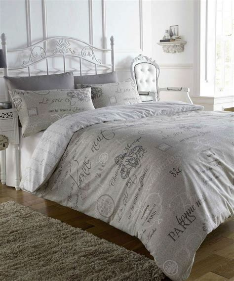 french bed linens french style script natural paris calligraphy design king