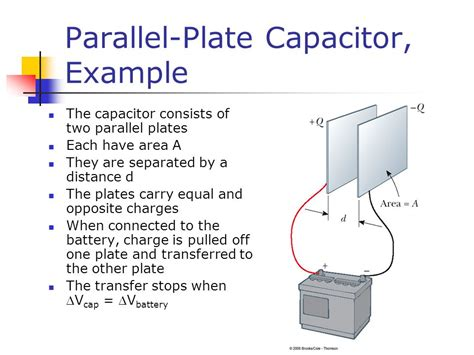 capacitance of parallel plate capacitor depends on electric energy and capacitance ppt