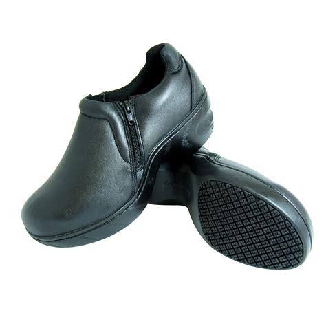 genuine grip slip resistant slip on work shoes 460