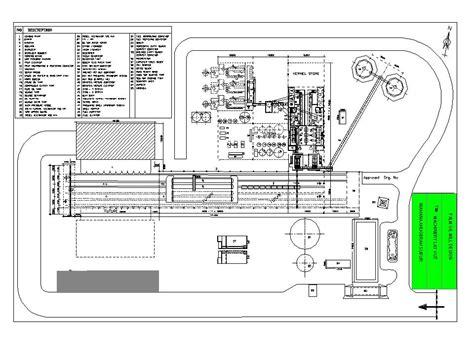 tata letak atau layout pabrik tor pabrik kelapa sawit pt global mapindo cic grup