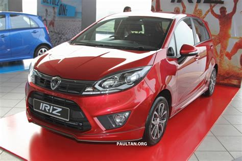 Best Home Colour Proton Iriz Launched 1 3 And 1 6 Vvt From Rm42k Image
