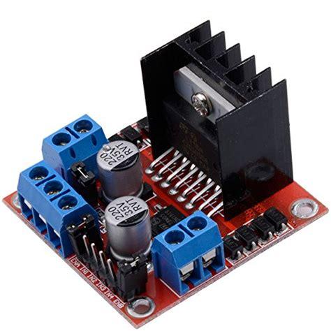 Stepper Motor Drive Controller Board L298n Dual H Bridge Dc qunqi l298n motor drive controller board module dual h bridge import it all