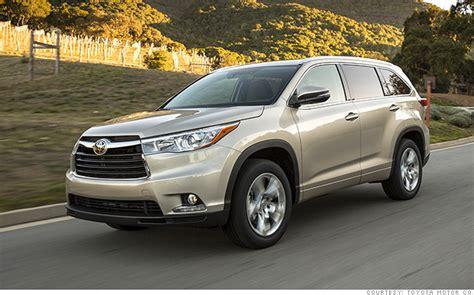 Consumer Reports Toyota Highlander Midsize Suvs Toyota Highlander V6 Most Reliable Cars
