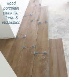 Installing Porcelain Tile Tile Flooring Demo Installation Centsational