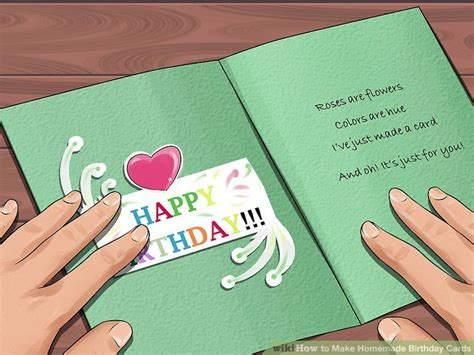 cool birthday cards to make at home 3 ways to make birthday cards wikihow