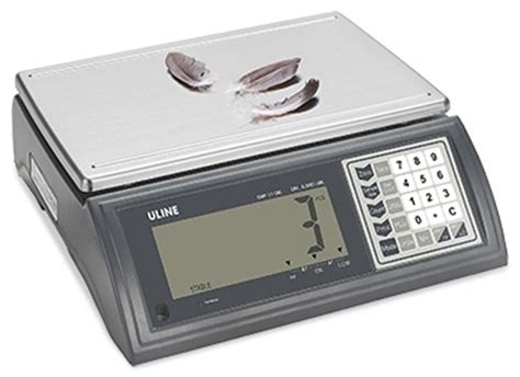 industrial counting scale in stock uline uline deluxe counting scales in stock uline
