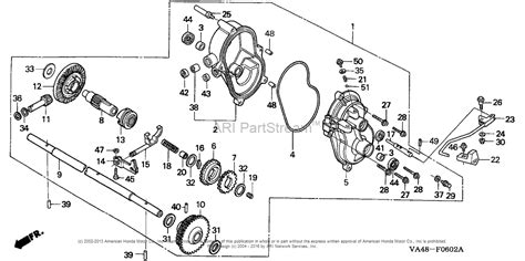 honda lawn mower parts diagram honda hrc215k1 sxa lawn mower usa vin mzau 6100001 to
