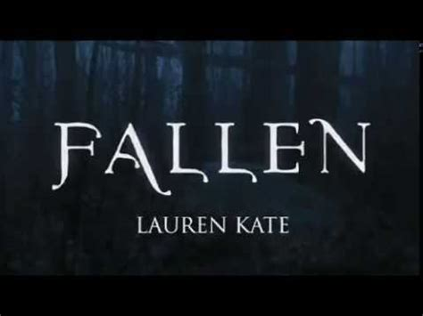 fallen film trailer ita fallen lauren kate book trailer youtube