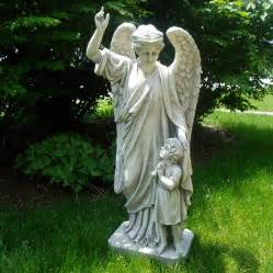 shop design toscano guardian angel child s prayer 34 in
