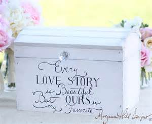 morgann hill designs wedding card box shabby chic decor vintage inspired hand painted keepsake