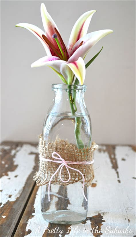 simple flower vases a pretty in the suburbs