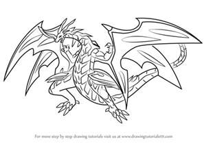 learn how to draw neo dragonoid from bakugan battle
