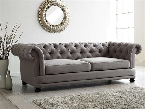 traditional buttoned back sofa chesterfield cinema