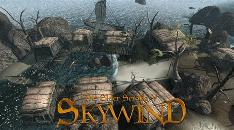 skyrim game engine mod skywind is morrowind reborn non fiction gaming