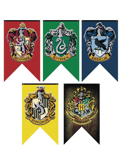 printable hogwarts house banners feb168154 harry potter hogwarts banner previews world